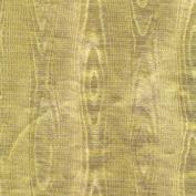 Caspari Entertaining with Caspari 2.4m Long Gold Moiré Foil Continuous Wrapping Paper Roll,