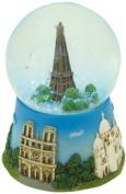 Musicbox World 17509 Eiffel Tower Snow Globe Playing Paris Full of Love