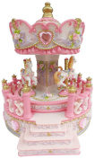 Musicbox World 14232 Carousel with Porch Playing For Elise
