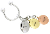 Jodie Rose Live Love and Laugh Charm Keyring