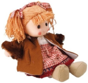 Musicbox World 20248 Doll with Red Dress Playing For Elise