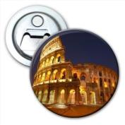 Roman Colosseum in Rome Italy Bottle Opener Fridge Magnet