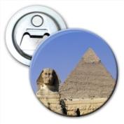 Egypt Pyramid & Sphinx Giza Bottle Opener Fridge Magnet