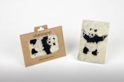Banksy Panda With Guns Photo Fridge Magnet