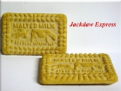2 Pack Malted Milk Biscuit Fridge Magnets W65mm L40mm D5mm
