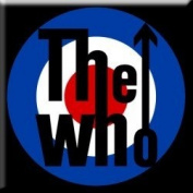 The Who Target Logo Fridge Magnet