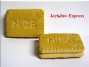 2 Pack Nice Biscuit Fridge Magnets W47m L33 D10mm