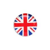Union Jack Fridge Magnet Pebble 4.3cm UJ GB Flag Souvenir Gift