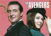 Avengers (Steed & Emma Peel) fridge magnet