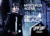 Captain Black (from Capt. Scarlet) steel fridge magnet