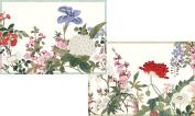 Caspari Entertaining with Caspari Profusion of Flowers Boxed Blank Notecard