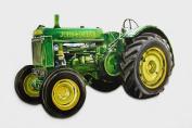 John Deere Tractor Jumbo Fridge Magnet - WT34J