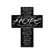 Message Cross fridge magnet HOPE