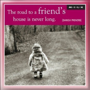 MILK Magnet - The road to a friends house ...
