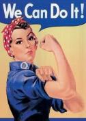 Rosie The Riveter We Can Do It fridge magnet