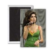 Amy Winehouse - 7.6cm x 5.1cm Fridge Magnet - large magnetic button - Magnet
