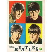 Beatles Four Colours fridge magnet