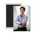 John Barrowman - 7.6cm x 5.1cm Fridge Magnet - large magnetic button - Magnet