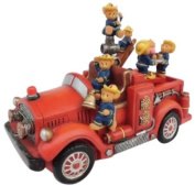 Musicbox World 14209 Fire Fighting with Bear Playing It's a Small World