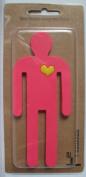 1 x Bendable Flexible Pink Man Magnetic Hook
