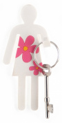 1 x Bendable Flexible White Lady Magnetic Hook