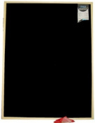 Large 60x80 cm blackboard with Pine bead frame.