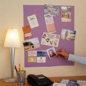 Self-Stick Memo Board, Lavender, reusable and re-stickable