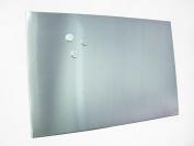 Zeller 11119 Magnetic Board 60 x 80 cm Stainless Steel