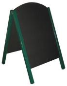 Large Metal A Frame blackboard - exterior or interior use 67x112cm