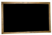 "Jumbo 80x120 cm blackboard with ""Antique"" style frame 40mm width."