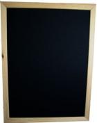 Large 60x80 cm blackboard with Pine frame 40mm width.