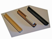 Self adhesive holding tray for chalk - 130 mm Black finish