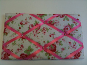 "Pinboards, Notice Boards, Memo Boards, ""Cath Kidston Fabric Rosali Cream"""