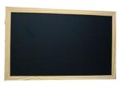 Jumbo 80x120 cm blackboard with Pine frame 40mm width.