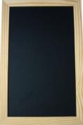 Small 40x60 cm blackboard with Pine frame 40mm width.