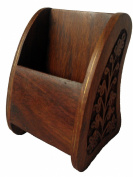 Mg Décor Sheesham Wood Cell Phone Holder