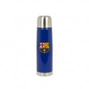 Barcelona FC OFFICIAL Isothermal Thermos Travel Flask Mug Blue