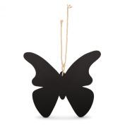 Butterfly Silhouette Hanging Blackboard Memo Notice Board