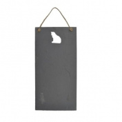 Cat Cut-out Slate Chalkboard / Noticeboard / Plaque
