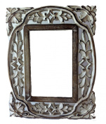 Mg Décor 10.16 x 15.24 cm Carved And Distress Look Photo Frame