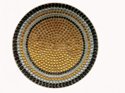 MG Décor Gemstone Placemat, Round, 38 cm Dia