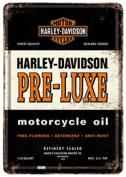 Nostalgic Arts - Harley Davidson Motorcycles - Pre - Luxe - Metal Postcard Sign