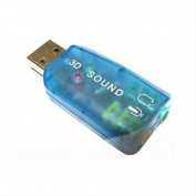 USB-SOUNDCARD2.0 Externa Sound Box