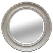 Vintage Round Penrose Porthole Wall Mirror 40cm - Mocha