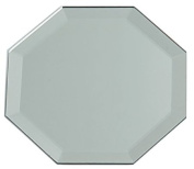 "Octagon Glass Mirror W/Bevel Edge 12""-Bulk"