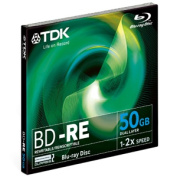 2x BD-RE Double Layer Media