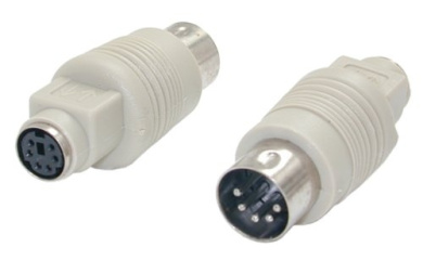 PS/2 to AT IBM Keyboard Adapter Cable M/F