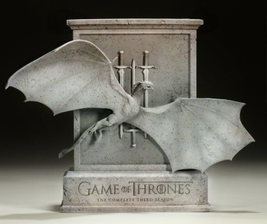 Game of Thrones - Season 3 Limited Edition Dragon Packaging