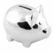 Christening Gifts. Silverplated Piggy Pig Money Box