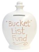 Terramundi Money Pot Cream with Gold Bucket List Fund S136